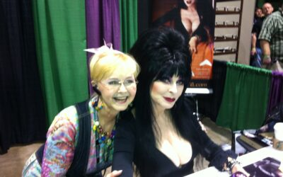 Meeting Elvira at the ScareFest Horror & Paranormal Convention